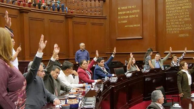 Trabajan diputados de Morena rumbo a cierre de Primer Año Legislativo