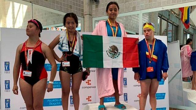 Atletas michoacanos con discapacidad conquistan oro en Colombia