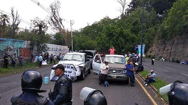 Elementos de la Unidad de Restablecimiento del Orden Público desplegaron un operativo para restablecer el orden (Foto Cortesía)