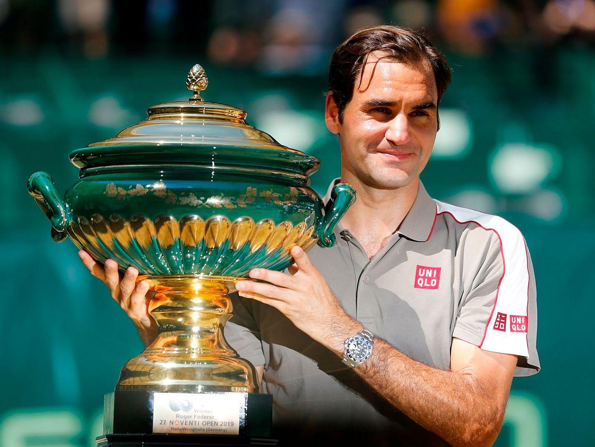 Roger Federer, se corona campeón por décima vez del Torneo de Halle
