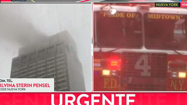 Se estrella helicóptero en edificio de Nueva York [Video en vivo]