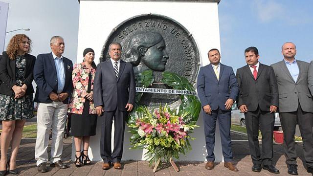 Conmemoran Natalicio de Doña Amalia Solórzano de Cárdenas