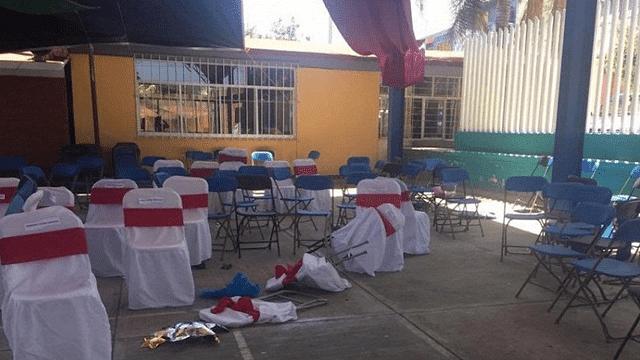 Ataque armado en graduación de kínder en Puebla deja cuatro muertos
