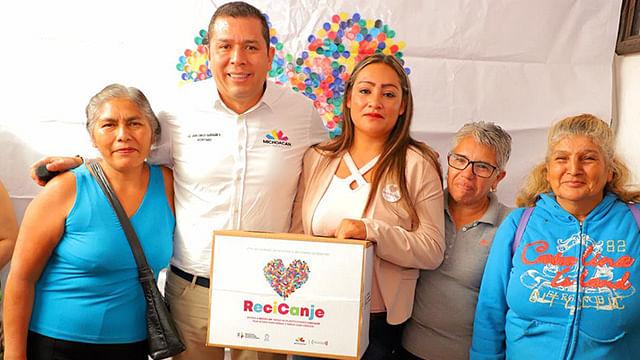 Todos los recursos recaudados por ReciCanje, serán destinados al fortalecimiento de los servicios que ofrece AMANC, recordó Barragán Vélez(Foto Cortesía)