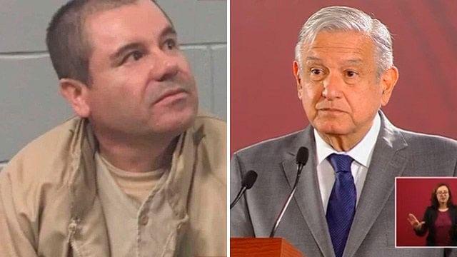 """AMLO, conmovido por sentencia dictada a """"El Chapo"""""""