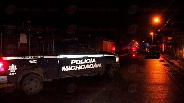 Sicarios rivales se enfrentan a balazos en Uruapan; hay 4 detenidos