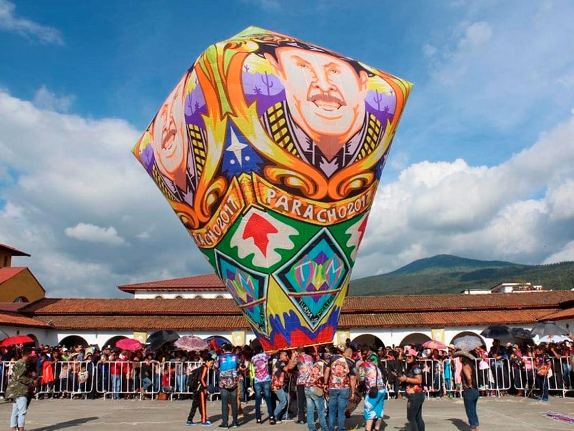 ¡Ahora en Paracho! No te pierdas el Festival de Globos de Cantoya