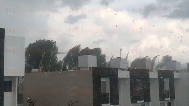 Monitorean el sur de Morelia por fuerte lluvia