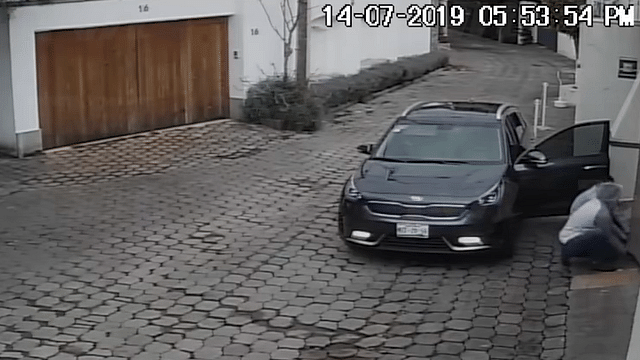 Difunden video del robo a la casa de Juan Osorio