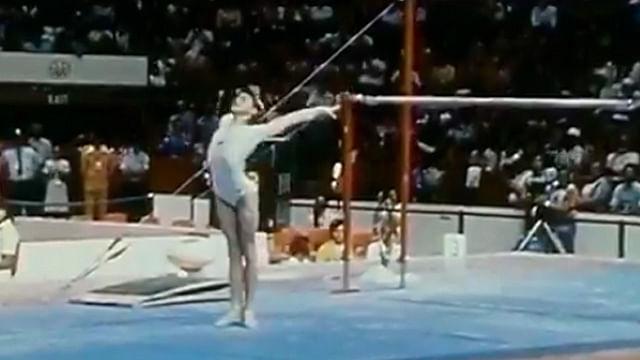 Hace 43 años Nadia Comaneci obtuvo el 10 perfecto y con este video lo revive