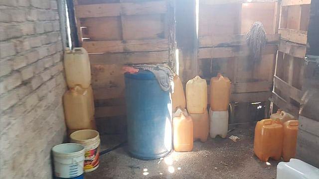 Tras cateo, FGR asegura hidrocarburo e inmueble en Morelia
