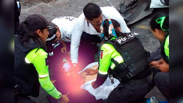 Taxista sufre infarto mientras conducía en el Centro Histórico de Morelia; lamentablemente muere