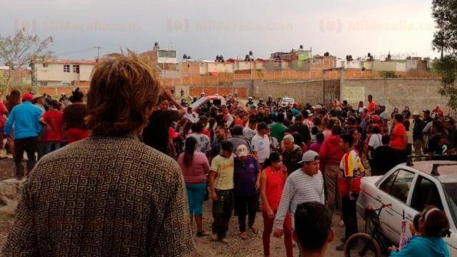 Detenidas, 80 personas tras desalojo del predio Caja Grande