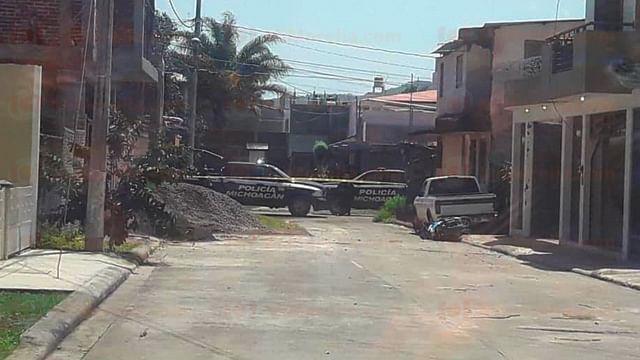 Comando armado rafaguea una casa en Uruapan