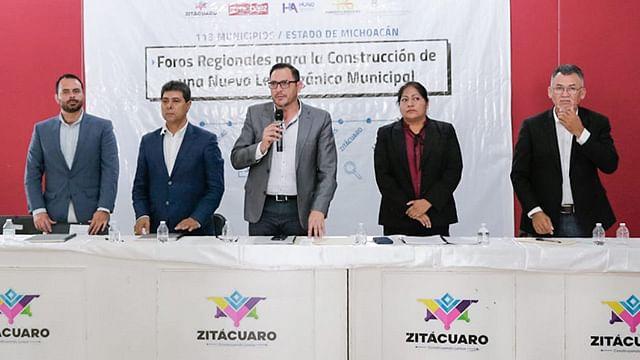 Concluye Foro para la construcción de nueva Ley Orgánica Municipal