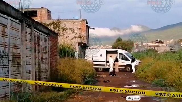Encuentran cuerpo baleado y maniatado en la Ampliación Gertrudis Sánchez
