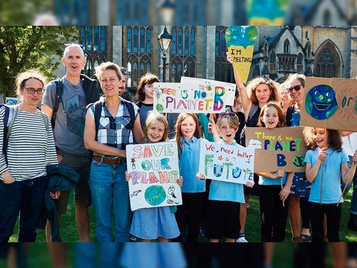 En todo el mundo protestan contra el cambio climático: #ClimateStrike ?