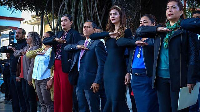Convoca Gema del Río Ambriz a que cada ciudadano sea portador de paz