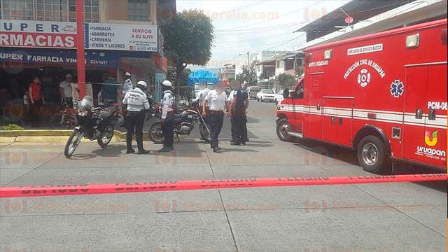 Asesinan a abogado en Uruapan; también trabajó en la Subprocuraduría