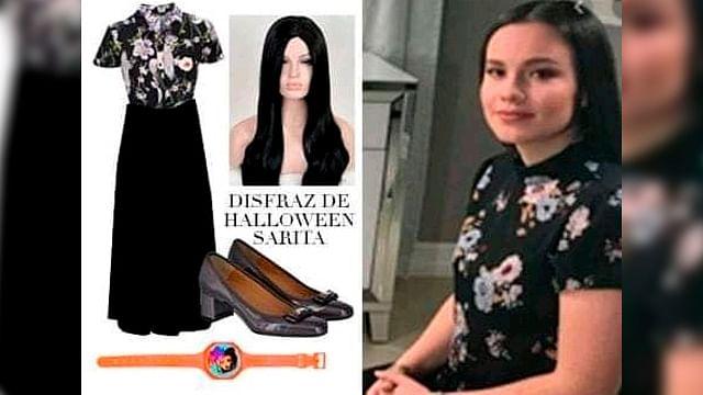 """¿Ya tienes disfraz pa' halloween? El de """"Sarita"""" se hace viral"""