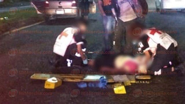 Atropellan a 2 peatones en lugares distintos en Morelia