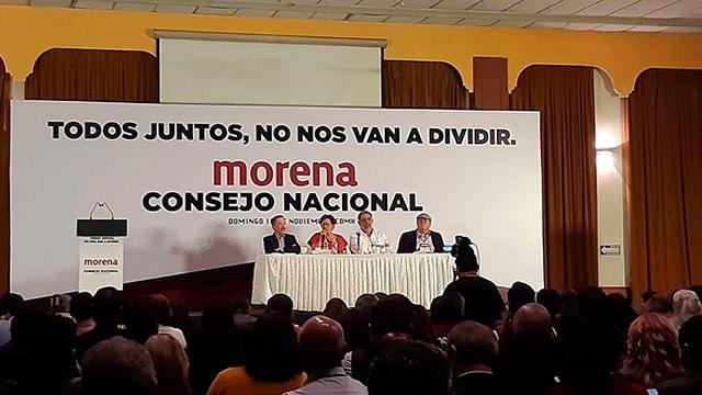Informa CNHJ de Morena cancelación del VI Congreso Nacional Extraordinario