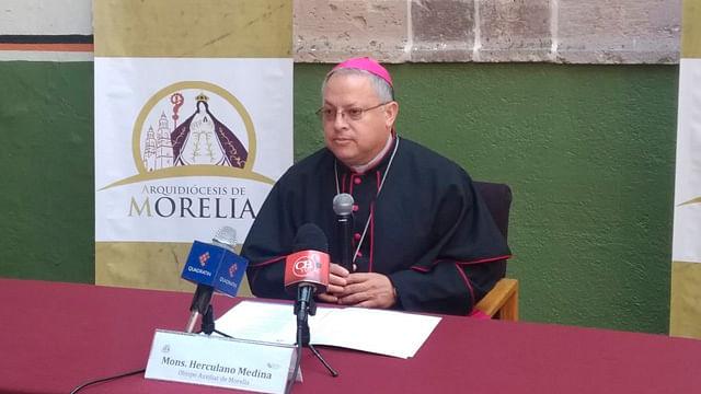 """Arquidiócesis de Morelia, pide al gobierno federal dejarse ayudar y no ser """"soberbio"""""""