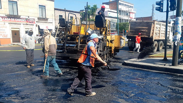 Inician reencarpetamiento en la Madero, Periodismo y Calzada La Huerta, en Morelia