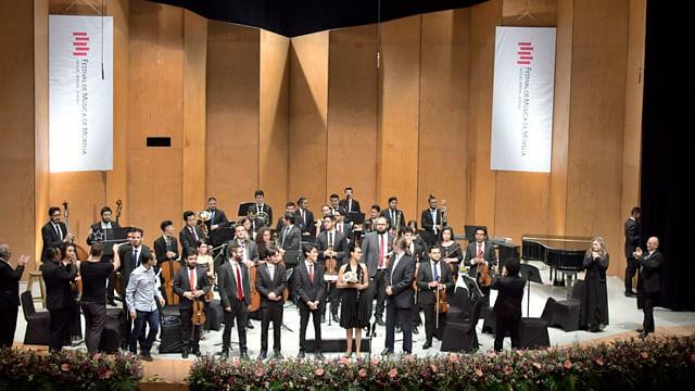 La Sinfonieta FMM y el Brodsky Quartet cerraron la fiesta grande de la música en México