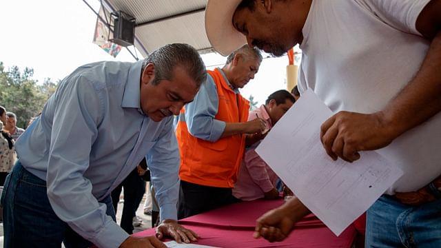 El medio rural será privilegiado por nuestra política social: Raúl Morón