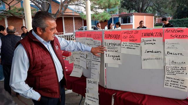 Da ciudadanía voto de confianza a estrategia de participación de Raúl Morón