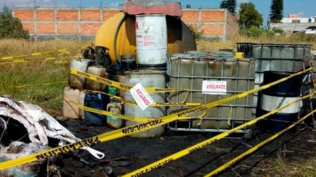 Asegura Profepa más de 25 mil litros de residuos peligrosos, en Morelia