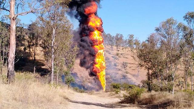 Reportan incendio de ducto de Pemex en Tarímbaro, Michoacán