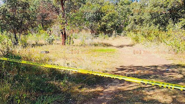 Encuentran cadáver embolsado en el poblado de Naranja de Tapia de Zacapu