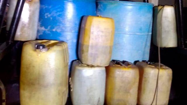 Localizan vehículo con ocho mil litros de hidrocarburo en Cuitzeo; FGR ya investiga