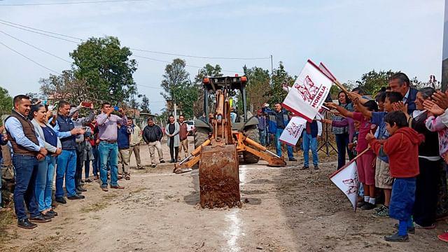 Inicia construcción de red de alcantarillado en Uruapilla