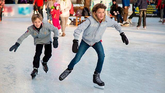 Ya llegó la pista de patinaje gratuita a Espacio Las Américas, en Morelia