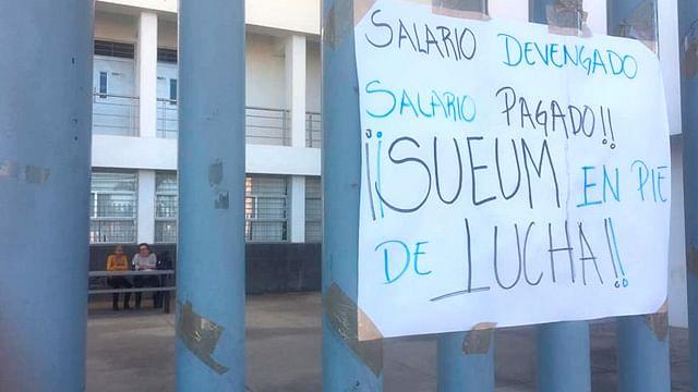 Mil trabajadores del SUEUM presentarán demandas contra rector