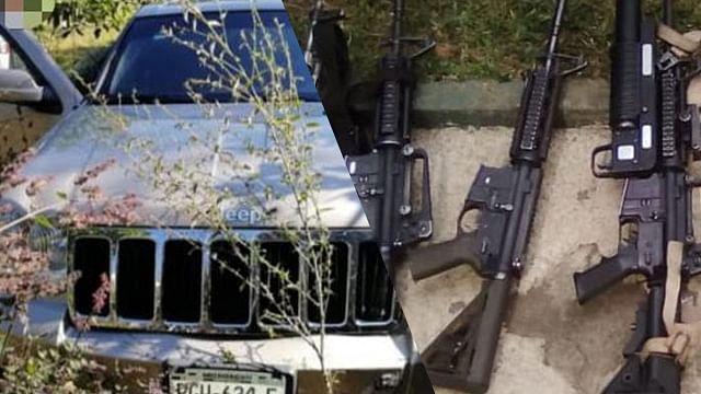 En Uruapan, detienen a cuatro en posesión de armas de fuego y droga