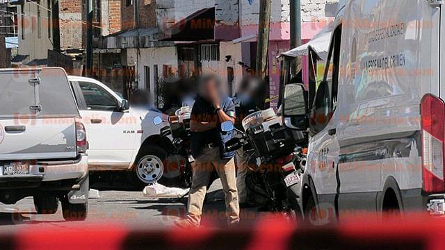 El móvil del atentado es ignorado, únicamente se supo que los hechos se registraron la tarde de este miércoles, en un inmueble de la calle San José del Río (Foto RED113)