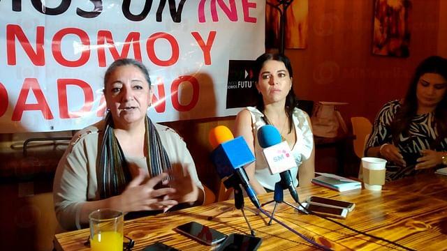 Convocan a cadena humana este domingo en defensa del INE, en Morelia