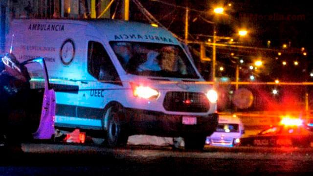 Atacan a balazos a dos en la Ventura Puente, uno muere, en Morelia
