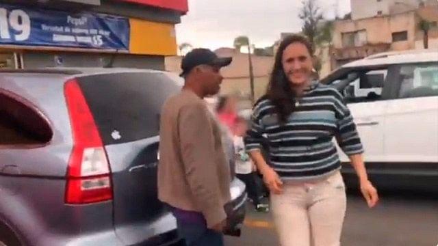 #Ladymanoseada acusa a hombre de tocarla luego de que evidenció castigo a sus hijos