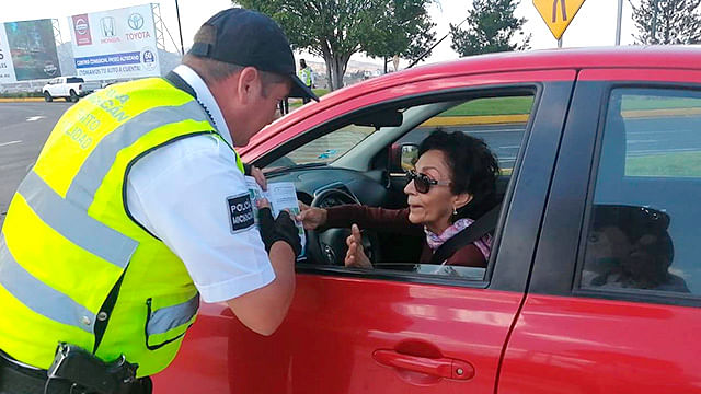 Implementan en Morelia campaña de prevención de accidentes en glorietas