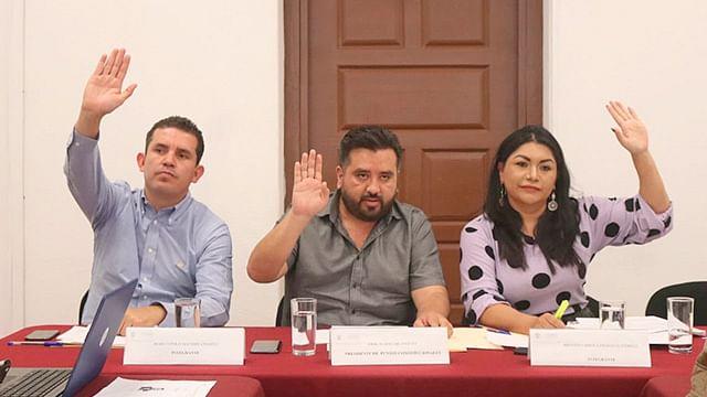Trabaja Comisión de Puntos Constitucionales en temas torales en favor de Michoacán