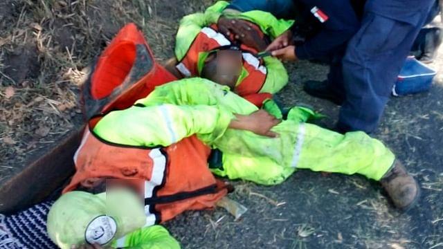 Atropellan a dos empleados del ayuntamiento, en Morelia