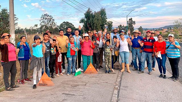 Sedesoh y habitantes de Jesús del Monte rescatan espacios públicos