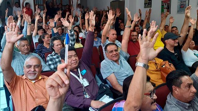 (Foto: Sindicato Único de Empleados de la Universidad Michoacana Pag.Oficial)