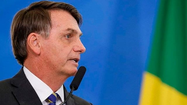 Positivo a coronavirus, presidente de Brasil
