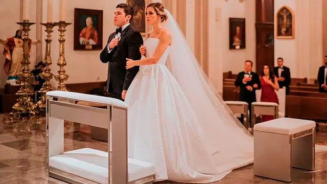 Senador de NL contrae matrimonio en plena contingencia sanitaria